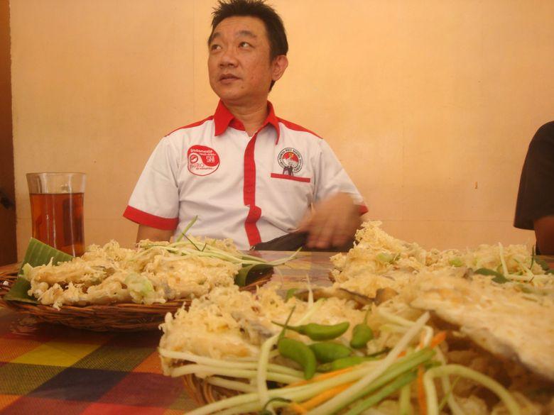 Begini Tampang Fudji Wong, Pemilik Hak Eksklusif Tempe Mendoan
