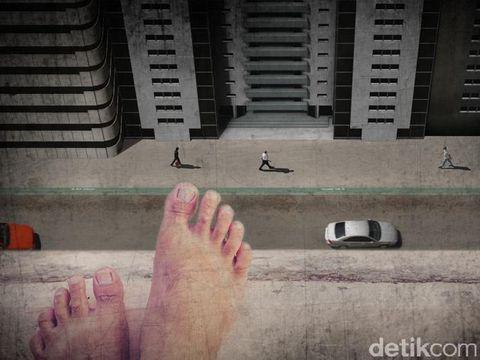 Ilustrasi bunuh diri