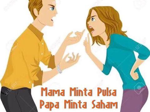 Meme Papa Minta Saham