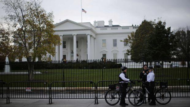 Gedung Putih dapat dikunjungi wisatawan (Carlos Barria/Reuters)