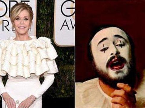 Foto: Gaun Selebriti di Golden Globes Jadi Lelucon Konyol di Media Sosial – Detikcom