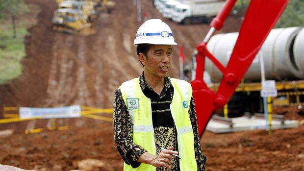 Ground Breaking Proyek Kereta Cepat Jakarta-Bandung