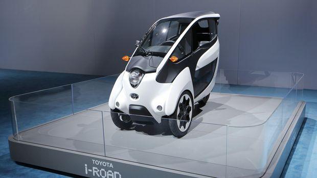 Kendaraan listrik Toyota i-Road