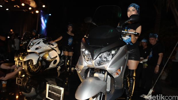 Peluncuran moge Suzuki 2014 lalu