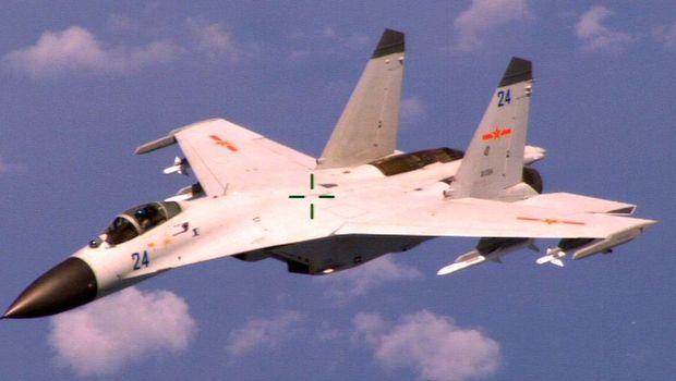 Angkatan udara China kerap melakukan latihan di sekitar Taiwan.