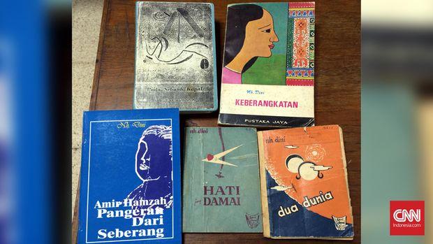 Buku-buku karya Nh Dini.