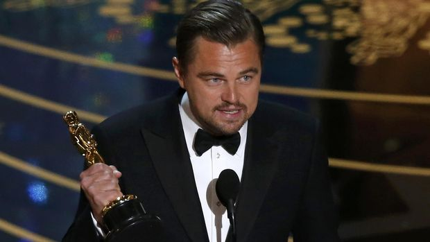 Leonardo DiCaprio akhirnya memenangkan Oscar pada 2016 sejak ia dinominasikan pertama kali pada 1993.