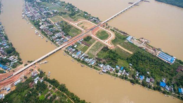 Jembatan Tayan. Dok. Kementerian PUPR