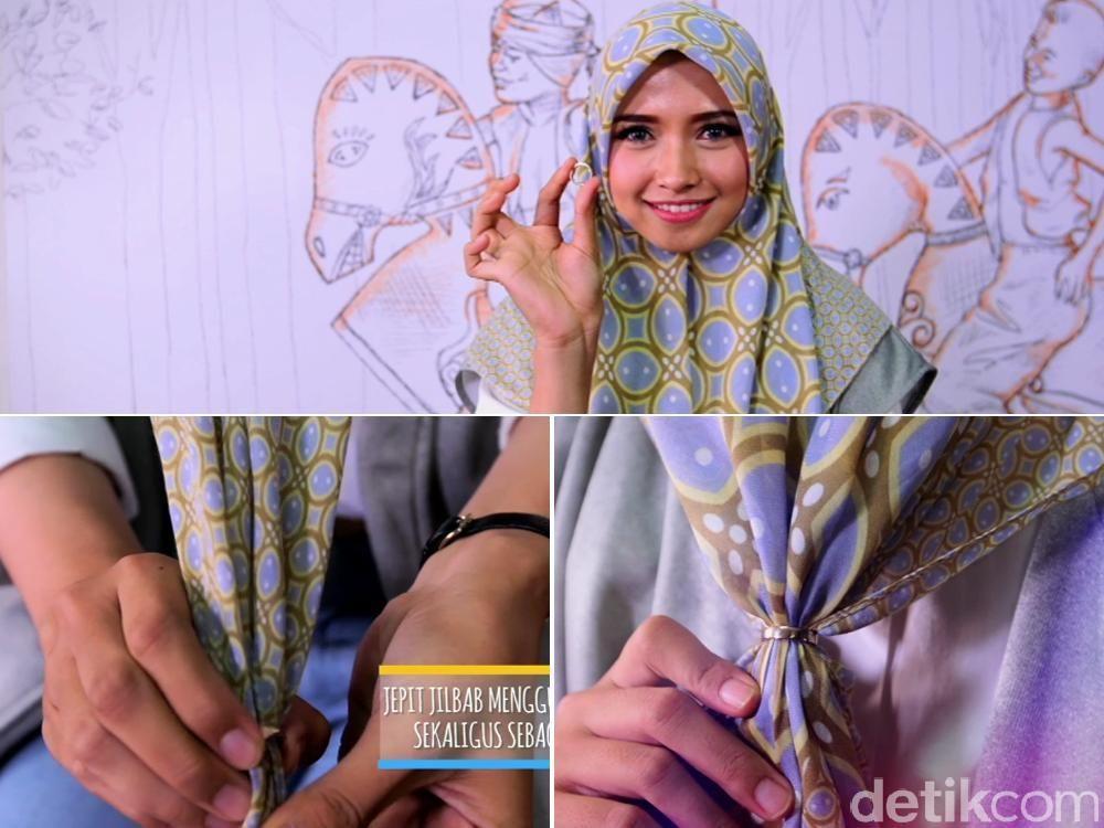 Tutorial Hijab dengan Cincin Ala Pandan Sari, Juara 2