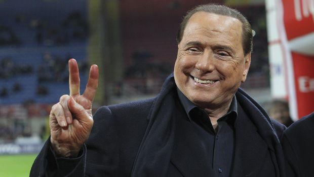 Berlusconi Resmi Jual Milan ke Investor China