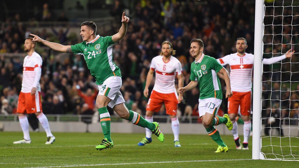 Republik Irlandia Menang 1-0 atas Swiss