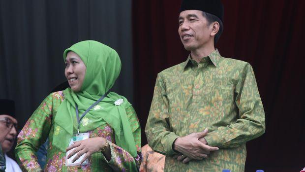 Cak Imin menyebut dirinya sudah meminta Presiden Joko Widodo agar tak mengizinkan Khofifa Indar Parawansa turun di Pilgub Jatim 2018.