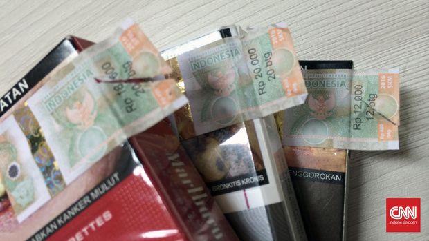 Setoran Cukai Turun Rp1 Triliun di Kuartal I 2017