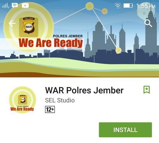 Polres Jember Luncurkan Aplikasi Kentongan Online