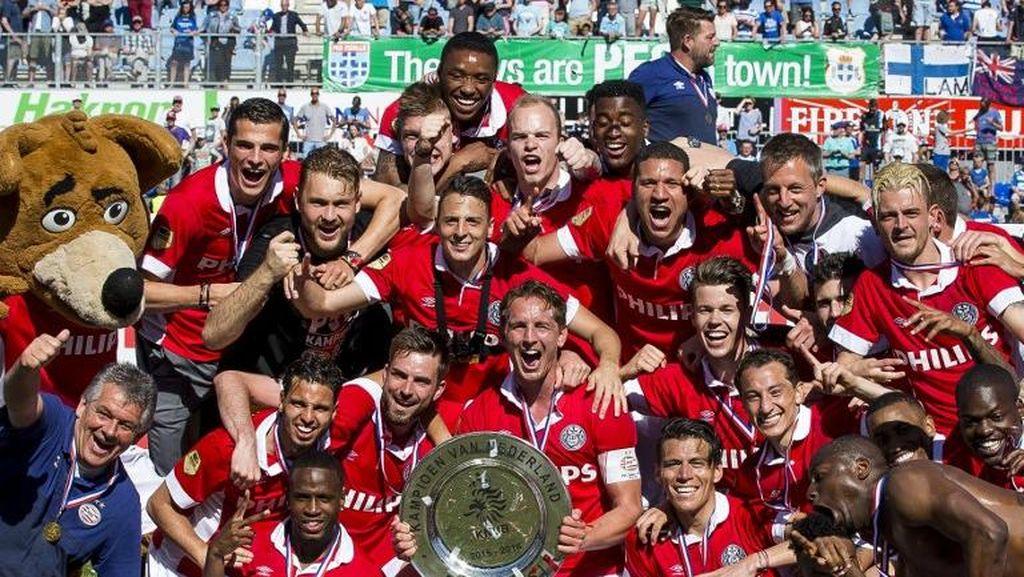 PSV Pertahankan Gelar Juara Liga Belanda