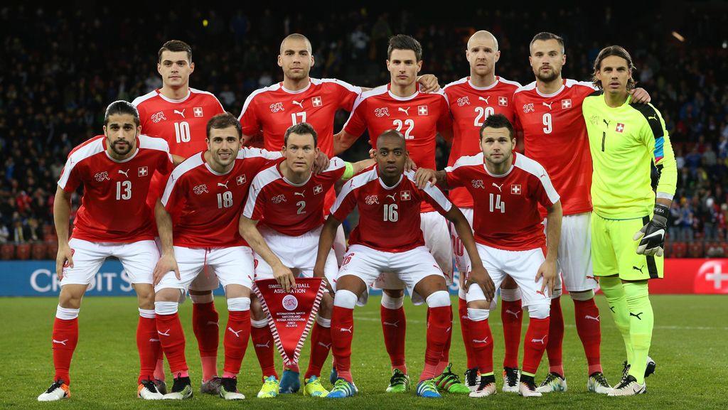 Swiss Umumkan Skuat Sementara untuk Piala Eropa
