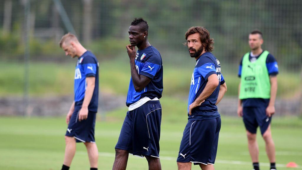 Tak Ada Balotelli dan Pirlo di Skuat Bayangan Italia