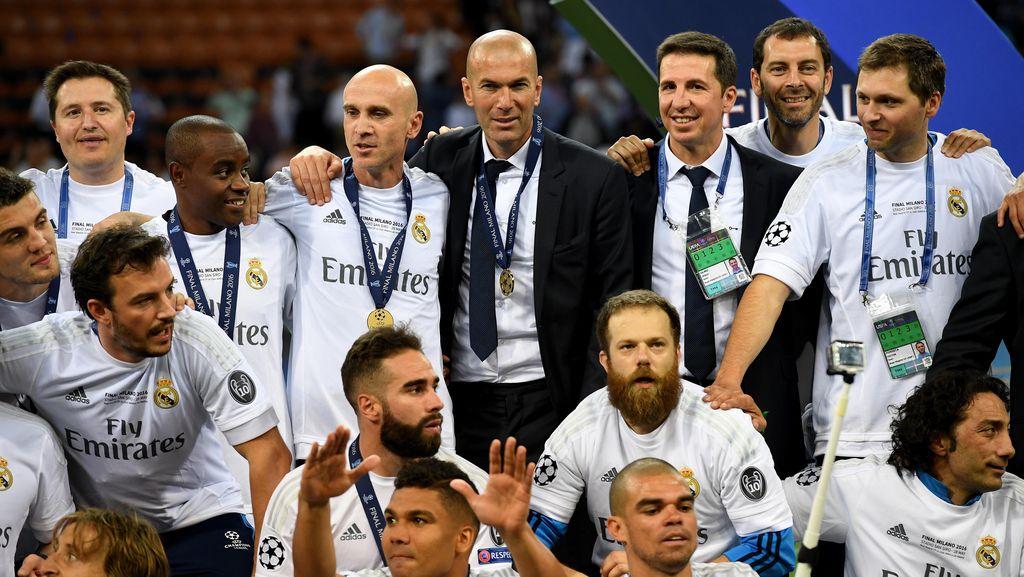 Ini Strategi Jitu Zidane untuk Meraih Undecima bersama Real Madrid