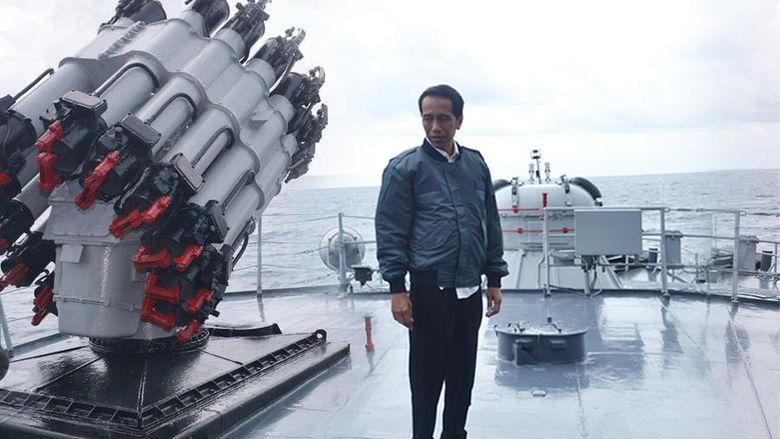 Kunjungan Jokowi ke Natuna Sinyal Agar China Tak Main Api dengan Indonesia