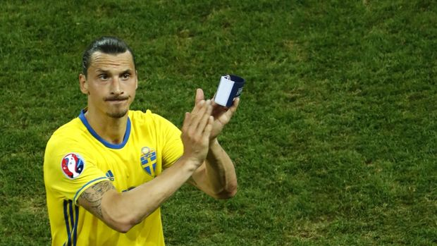 Zlatan Ibrahimovic menyatakan pensiun dari Timnas Swedia pada 21 Juni 2016. (