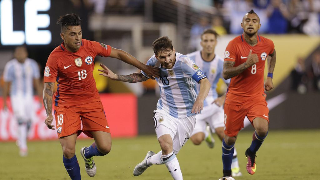 Kalahkan Argentina Lewat Adu Penalti, Chile Juara Copa America