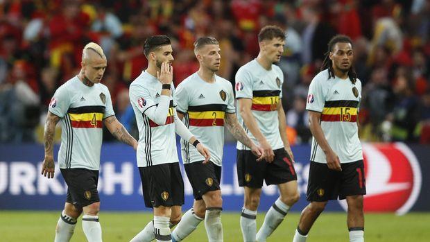 Timnas Belgia sukses lolos ke Piala Dunia 2018 sebagai juara Grup H.