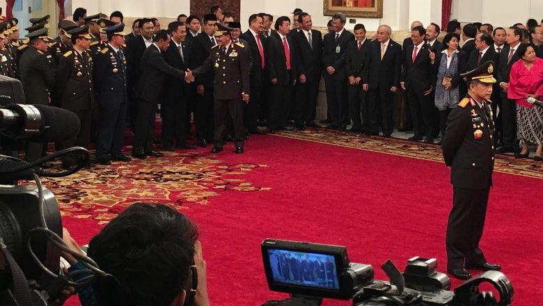 Dua Pesan Penting Presiden Jokowi untuk Kapolri Jenderal Tito Karnavian