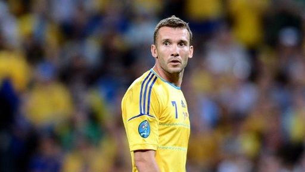 Shevchenko Pelatih Baru Timnas Ukraina