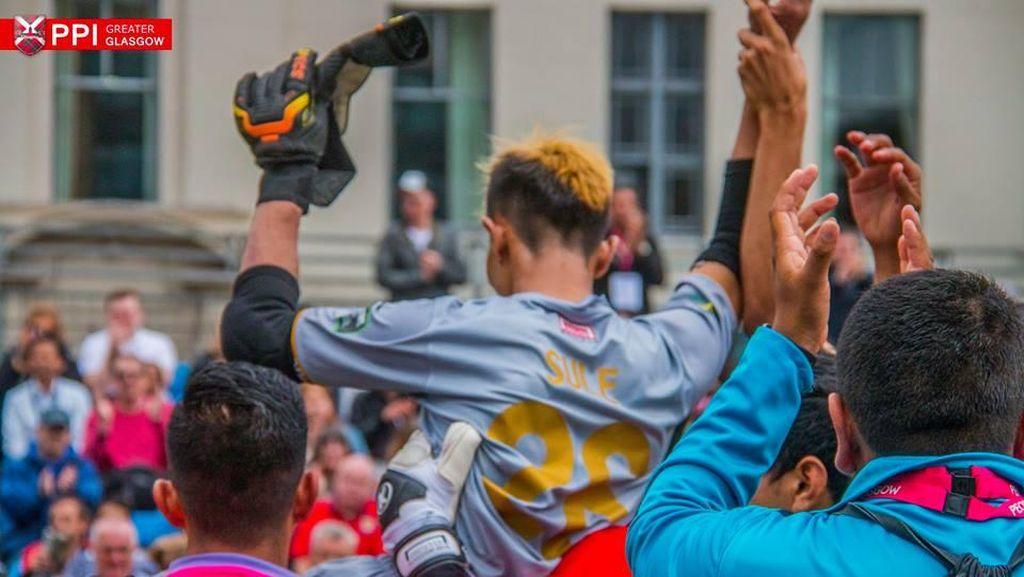 Kisah Eman dan Perjuangan Tim Homeless World Cup Indonesia di Glasgow