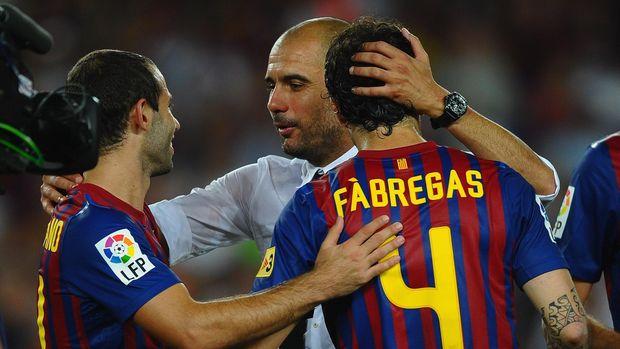 Fabregas Membicarakan Tiga Pelatih Terbaik