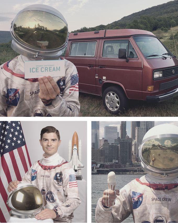 Wah, Tanpa Disimpan di Kulkas Es Krim Astronot Ini Tak