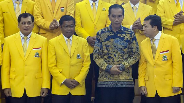 Krisis Kaderisasi Di Balik Partai Pendukung Jokowi
