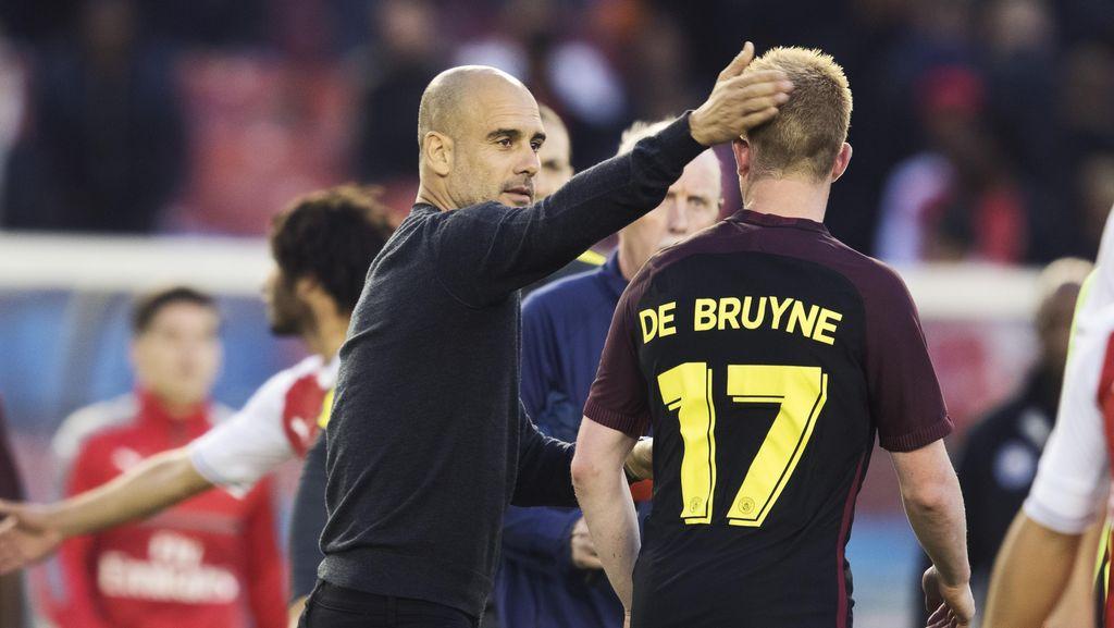 City Dikalahkan Arsenal, Guardiola Ambil Sisi Positifnya