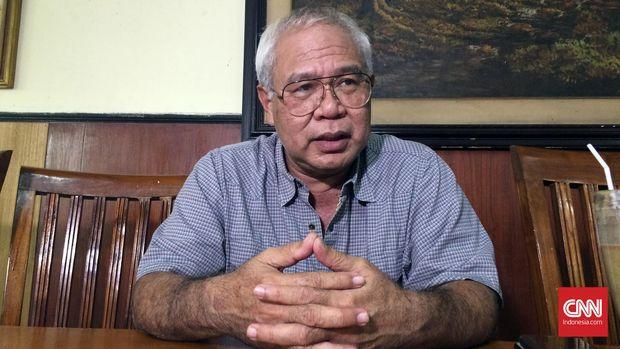 Mantan Kabais Soleman Ponto saat ditemui di kawasan Jakarta Selatan pertengahan tahun lalu.