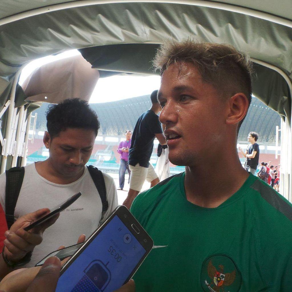 Irfan Bachdim Berharap Segera Pulih dari Cedera