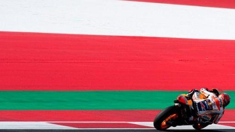 Meski Tengah Cedera Bahu, Marquez Bidik Duo Yamaha
