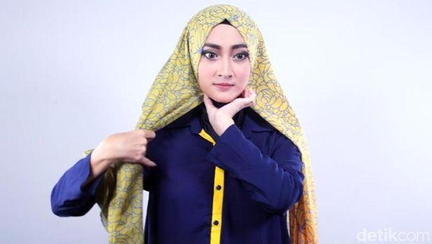Tip:Tutorial Hijab untuk Bergaya Vintage