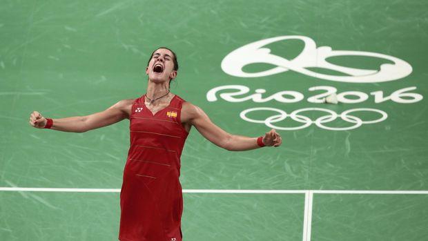 Carolina Marin, juara Olimpiade 2016 juga masih berusia 24 tahun.