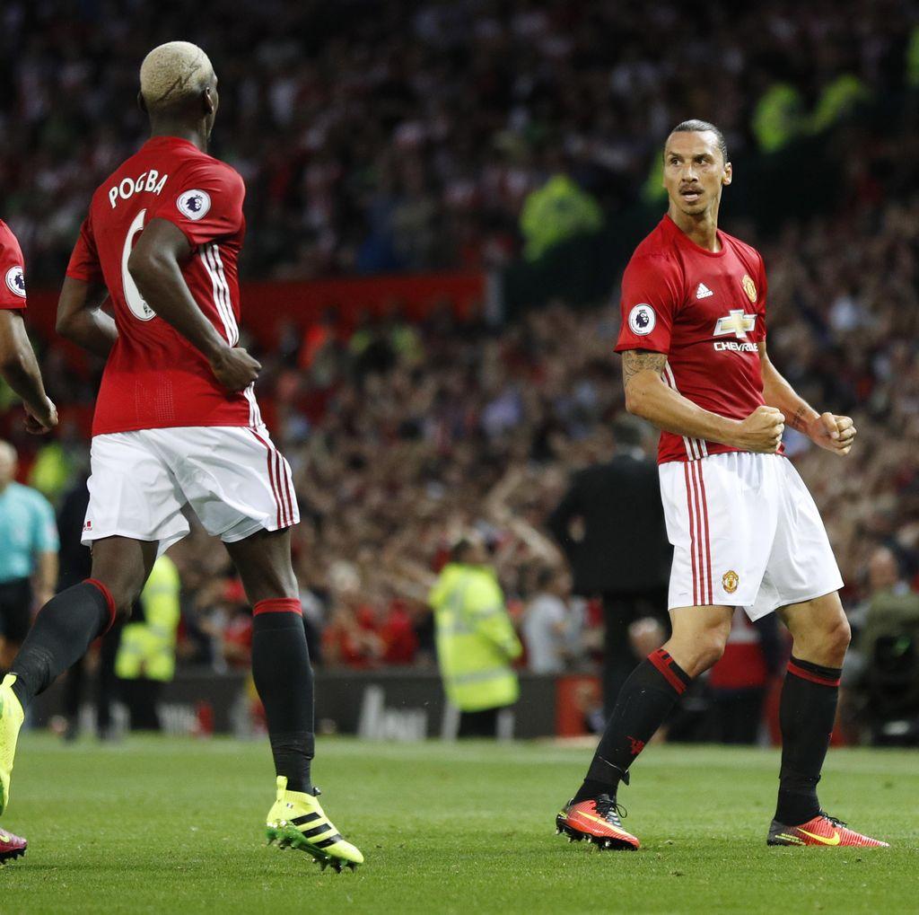 Pogba dan Ibrahimovic Tak Mutlak Dijamin Selalu Main di MU-nya Mourinho