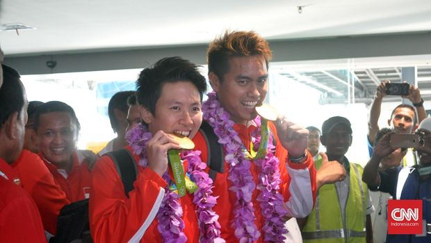 Owi/Butet sukses meraih gelar juara di Olimpiade Rio de Janeiro 2016.
