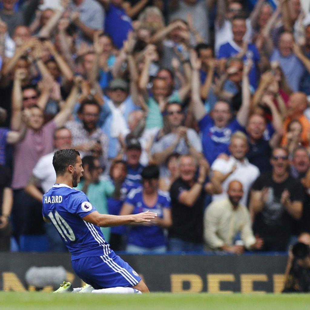 Hadapi MU, Hazard Minta Chelsea Jangan Sampai Kebobolan