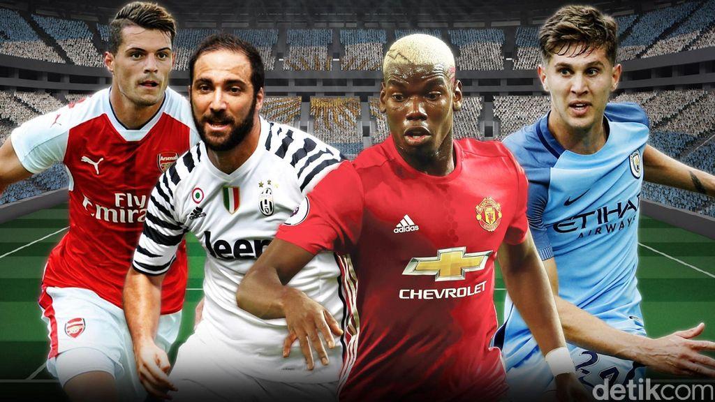 Pemain-pemain Termahal di Bursa Transfer Musim Panas 2016
