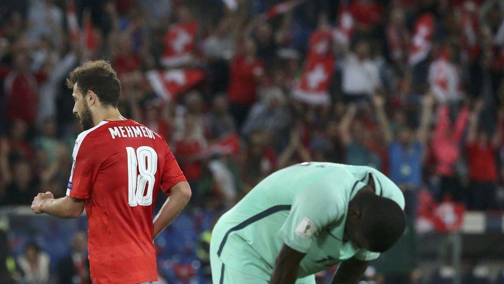 Portugal Takluk 0-2 di Kandang Swiss