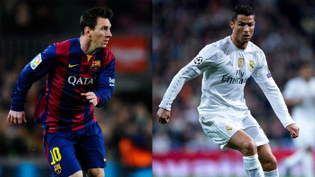 Maradona: Messi dan Ronaldo Sama-Sama Superior