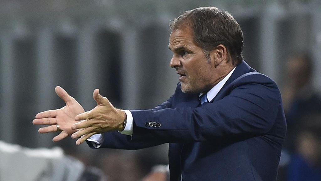 De Boer Cuma Butuh Waktu di Inter