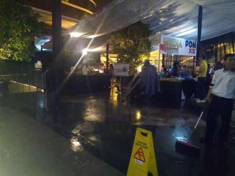 Media center PON Jabar 2016 mengalami kebocoran