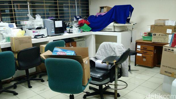 Ruang laboratorium Balai Kota DKI (Danu Damarjati/detikcom)