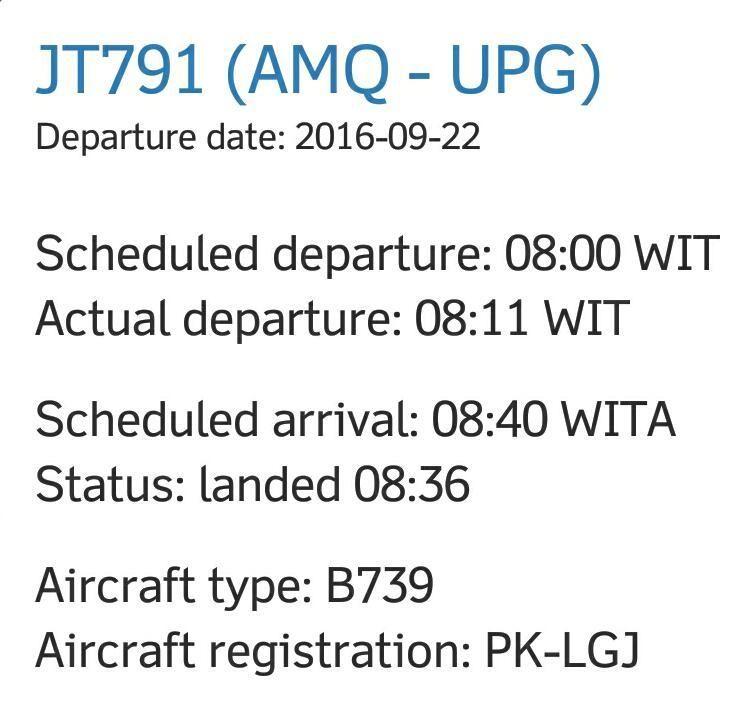 Berita Lion Air Mendarat Darurat