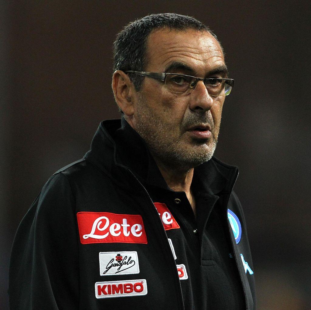 Sarri Nilai Laga Juve vs Napoli Bukan Duel <i>Scudetto</i>