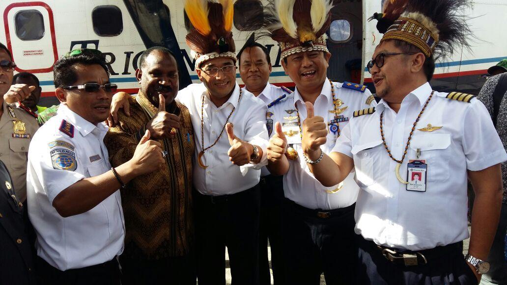 Hasil gambar untuk Tol Udara Akan Hadir Bulan Ini Di Papua